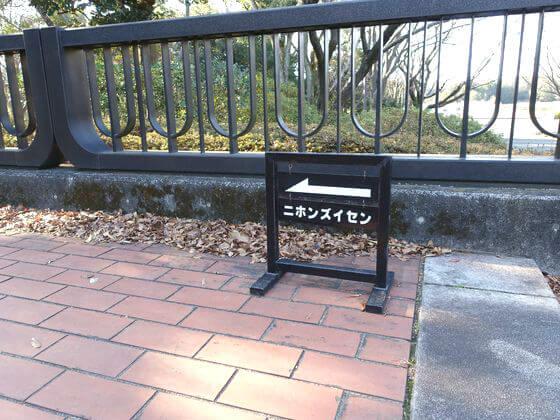 昭和記念公園 スイセン 場所