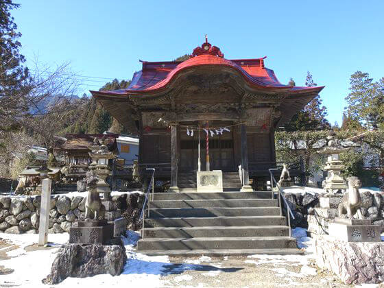 八日見山龍頭神社