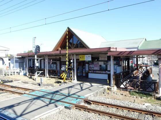 横瀬駅ホーム