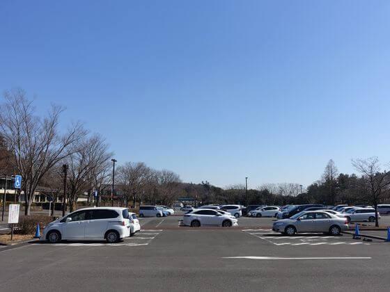森林公園 駐車場