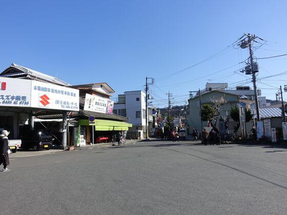 下曽我駅 ロータリー