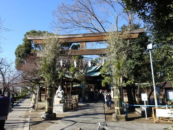 品川区 荏原神社