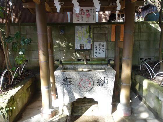 八雲神社 鎌倉 手水舎