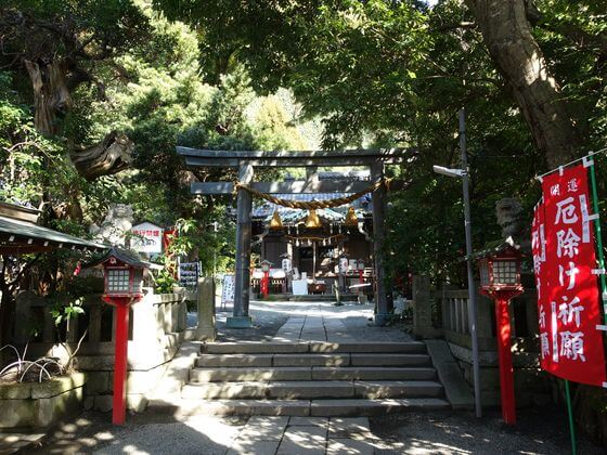 八雲神社 鎌倉 二の鳥居