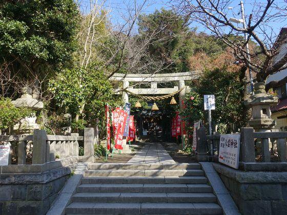 八雲神社 鎌倉 一の鳥居