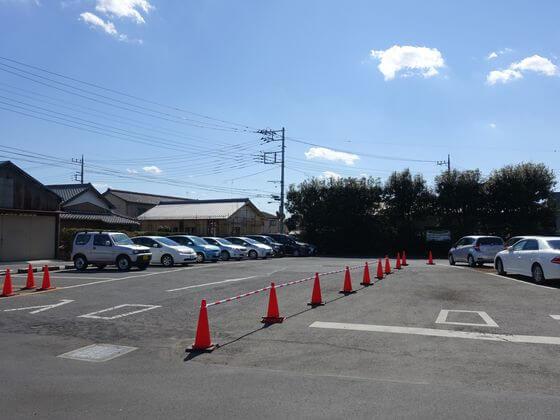 鷲宮神社 駐車場