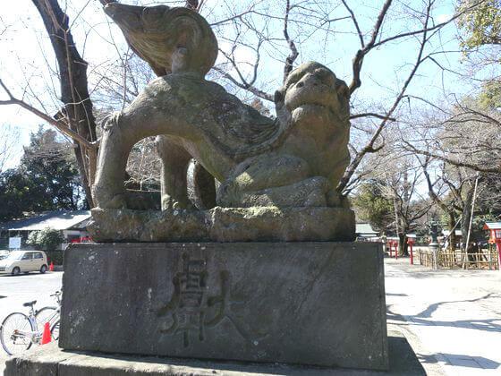 鷲宮神社 狛犬