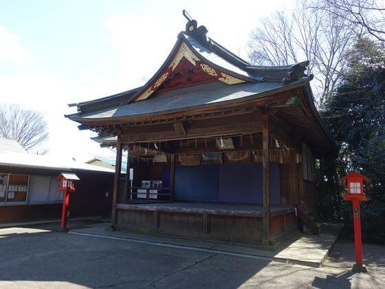鷲宮神社 神楽殿