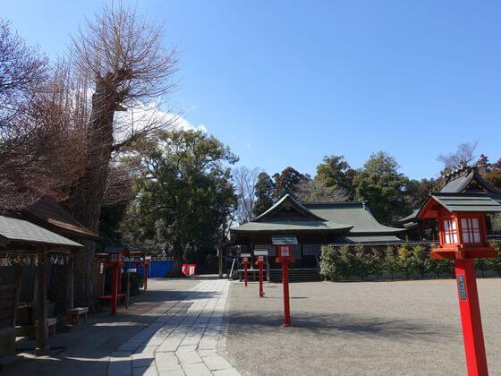 鷲宮神社 灯籠