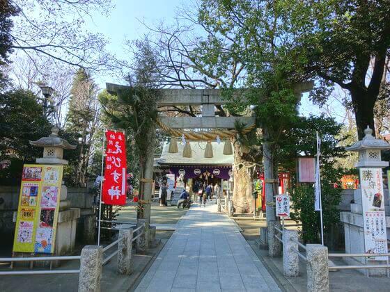 新田神社 鳥居