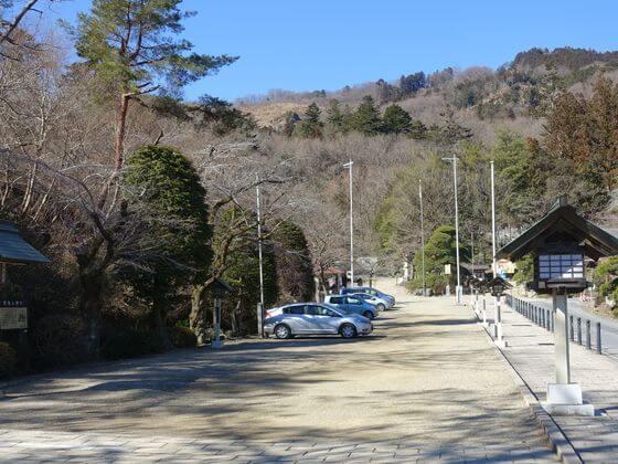 宝登山神社 駐車場 無料