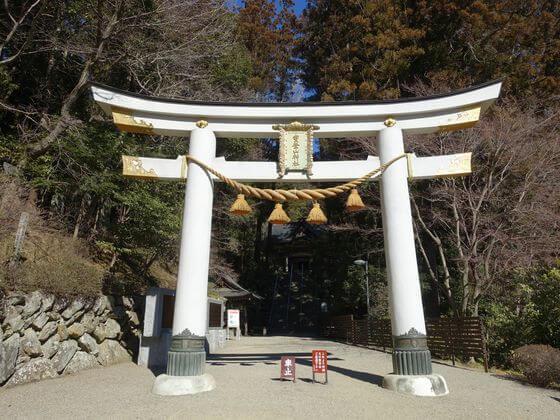 宝登山神社 二の鳥居