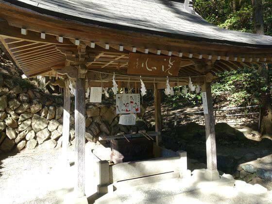 手水舎 宝登山神社