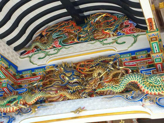 宝登山神社 本殿 彫刻