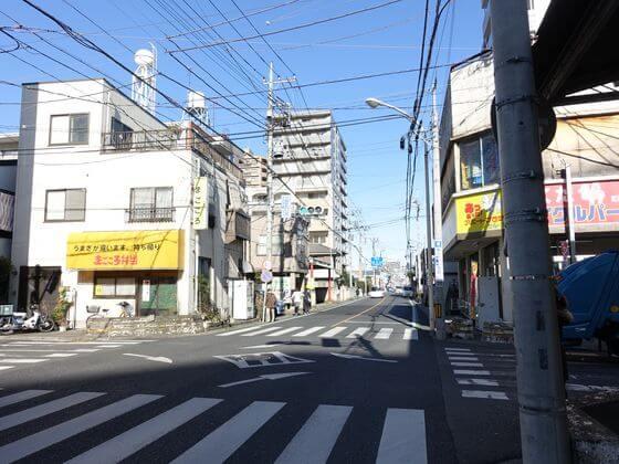 川越駅入口(東)交差点