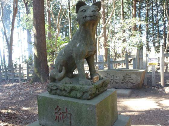 宝登山神社 オオカミ