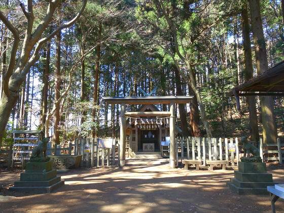 奥宮 宝登山神社
