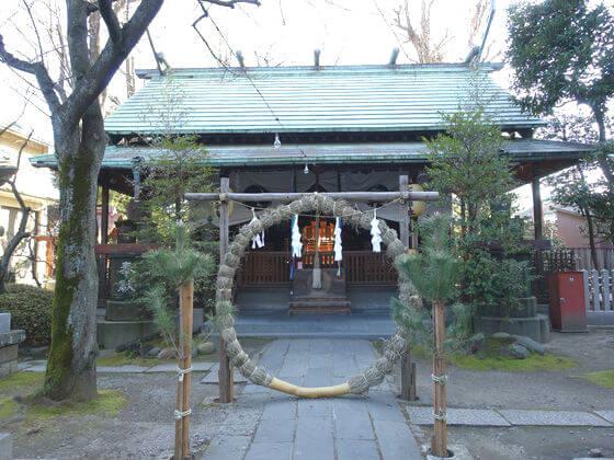 仲町氷川神社