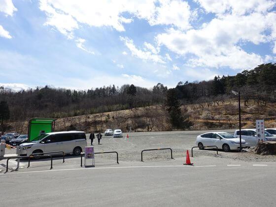 宝登山小動物公園 駐車場