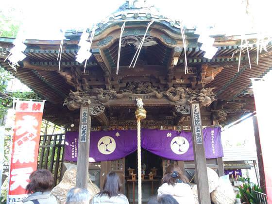 久須志神社 千住本氷川神社