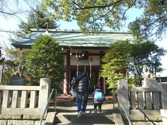 大川町氷川神社 社殿