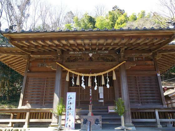高尾氷川神社 本殿