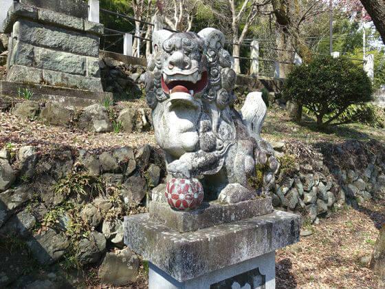 狛犬 高尾氷川神社