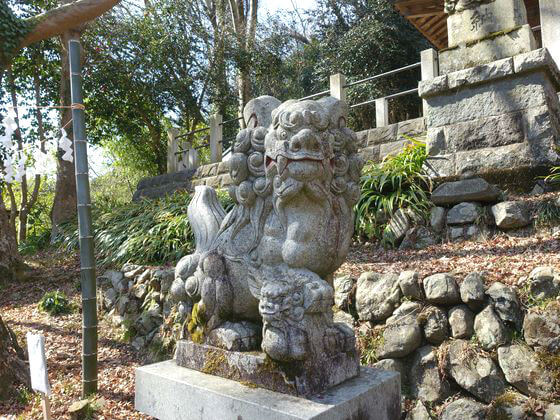 高尾氷川神社 狛犬