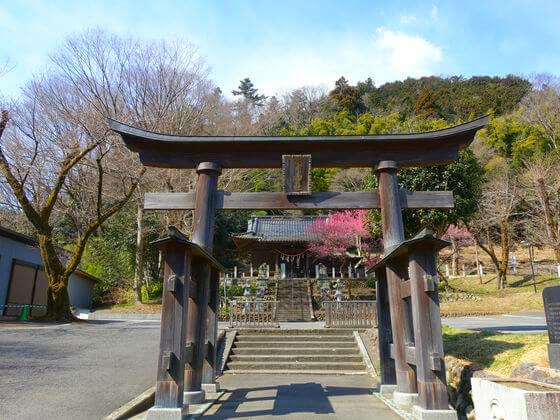 高尾氷川神社 二の鳥居