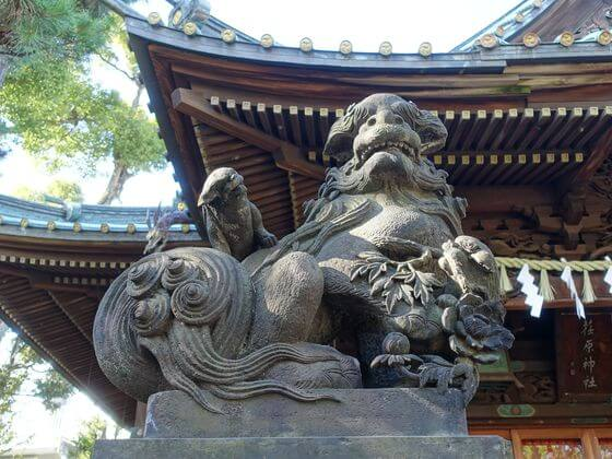 荏原神社 狛犬