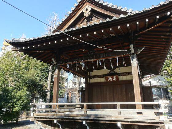 荏原神社 舞殿
