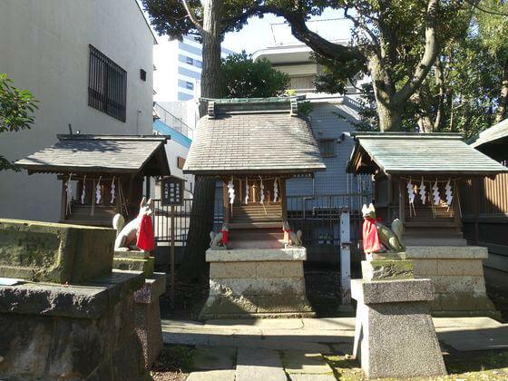 荏原神社 末社