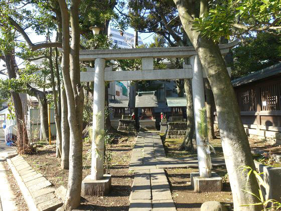 品川区 荏原神社 末社