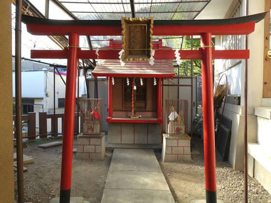 天祖諏訪神社 稲荷神社