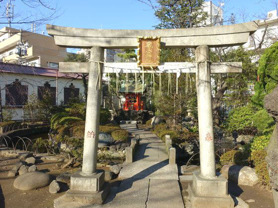 天祖諏訪神社 厳島神社