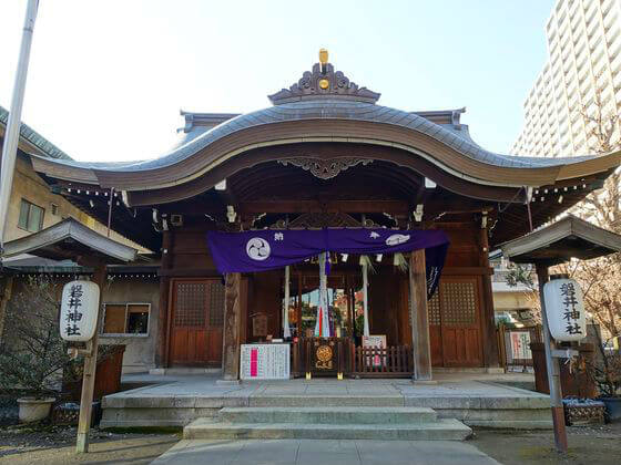 磐井神社 社殿