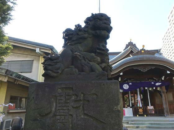 磐井神社 狛犬