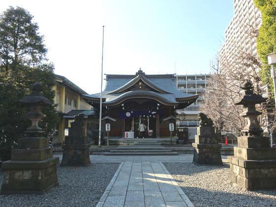 磐井神社 境内