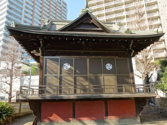 磐井神社 神楽殿