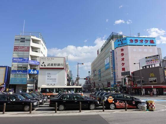 大宮駅 東口 ロータリー
