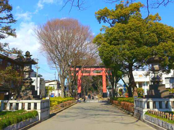 大宮 氷川神社 二の鳥居
