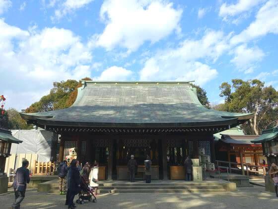 大宮 氷川神社 拝殿
