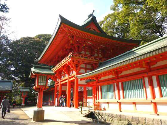 氷川神社 大宮 楼門
