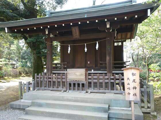 大宮 氷川神社 松尾神社
