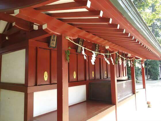 大宮 氷川神社 六社