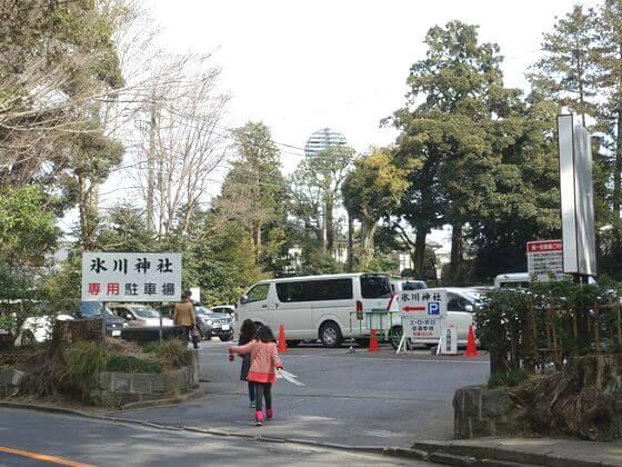 大宮 氷川神社 駐車場
