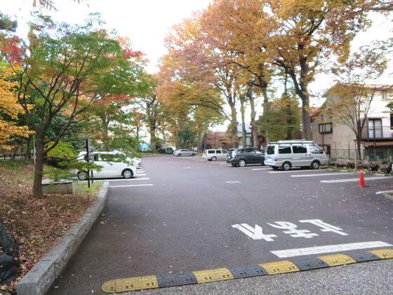 九品仏浄真寺 駐車場