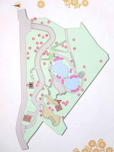 池田山公園 地図