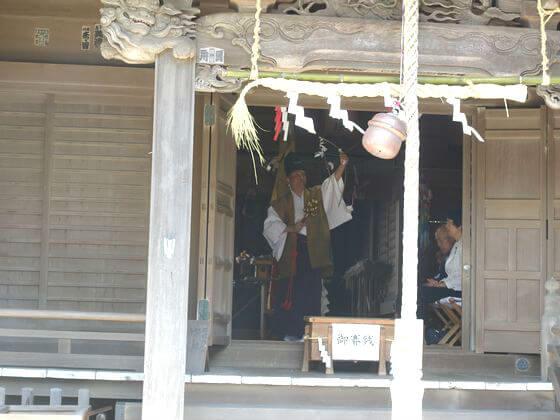 五所神社 鎌倉 祈年祭