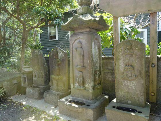 五所神社 鎌倉 庚申塔